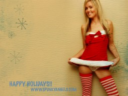 Spunky Angels : Merry Christmas